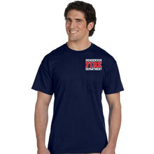 Load image into Gallery viewer, HFD Bayside Duty Pocket Tee (7100/8100)