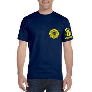 LVFR 50/50 Childhood Cancer Awareness Short Sleeve Duty Tee 2018