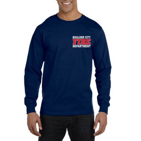 BCFD American Apparel 100% Cotton Longsleeve Duty Tee