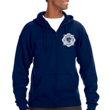 Load image into Gallery viewer, LVFR Premium Heavyweight Off Duty Zip Hoodie By JAmerica