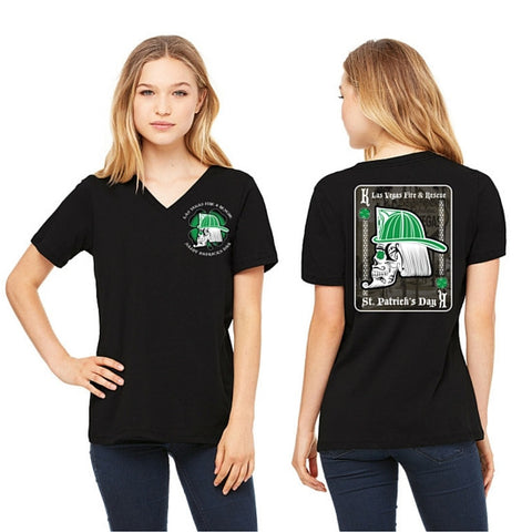 LVFR 2016 LADIES Saint Patrick's Day Off Duty Shirt