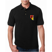 Load image into Gallery viewer, PFFN Made In USA Embroidered Polo W/ Chest Logo (100% Cotton)