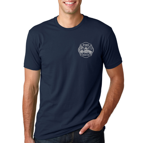 NLVFD Bayside 100% Cotton POCKETED Duty Tees