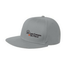Lee Canyon Ski Patrol Flat Bill Cap