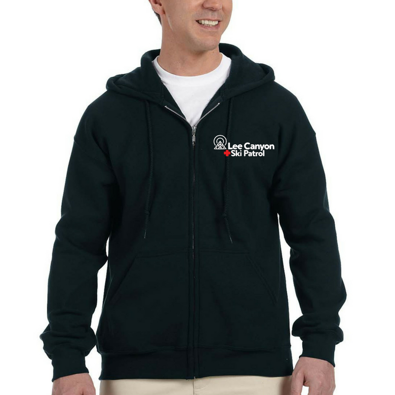 Lee Canyon Ski Patrol Full Zip Hoodie