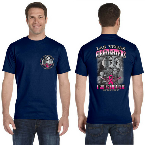 2016 LVFR Bayside SHORTSLEEVE Breast Cancer Awareness Tee