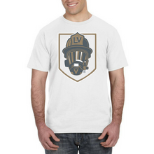 Load image into Gallery viewer, GOLDEN HELMET-LV Golden Knights Firefighter Fan Tee