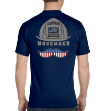 Load image into Gallery viewer, NLVFD 2018 Movember Awareness Tees