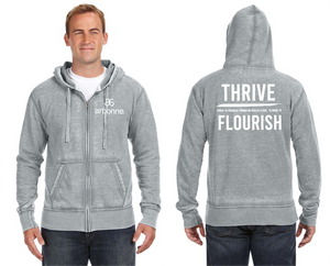 Flourish + Arbonne Zip-Up Hoodie (Men's)