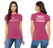 Load image into Gallery viewer, Flourish + Arbonne Women's SS T-Shirt