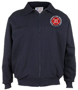 CCFD Game Full Zip Job Shirt
