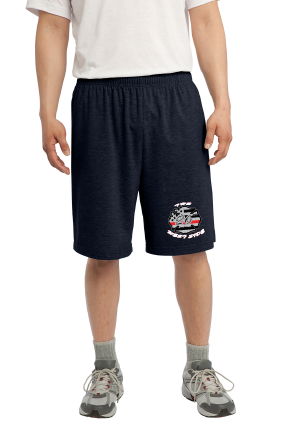 CCFD Station 26 Duty Workout Shorts (100% Polyester)