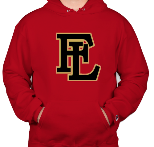 Faith Lutheran Red NY Skyline Hoodie