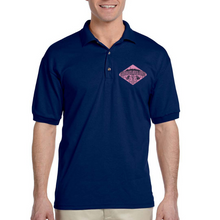 Load image into Gallery viewer, GEMS 2018 Breast Cancer Awareness Polo