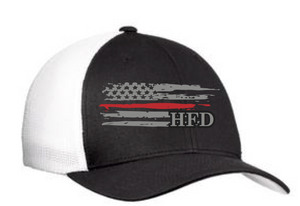 HFD Off Duty Thin Red Line Trucker Cap(C812)