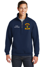 Load image into Gallery viewer, Albany JERZEES 1/4 Zip Job Shirt