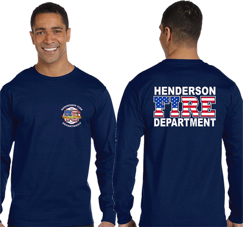 HFD Long Sleeve 75th Anniversary Wear (Gildan 50/50)