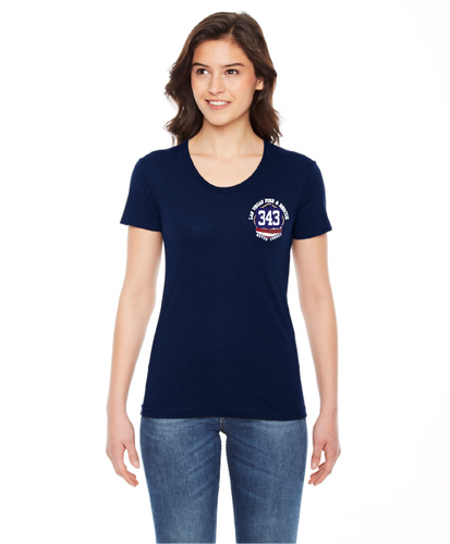 LVFR 9/11 NEVER FORGET LADIES SHIRTS