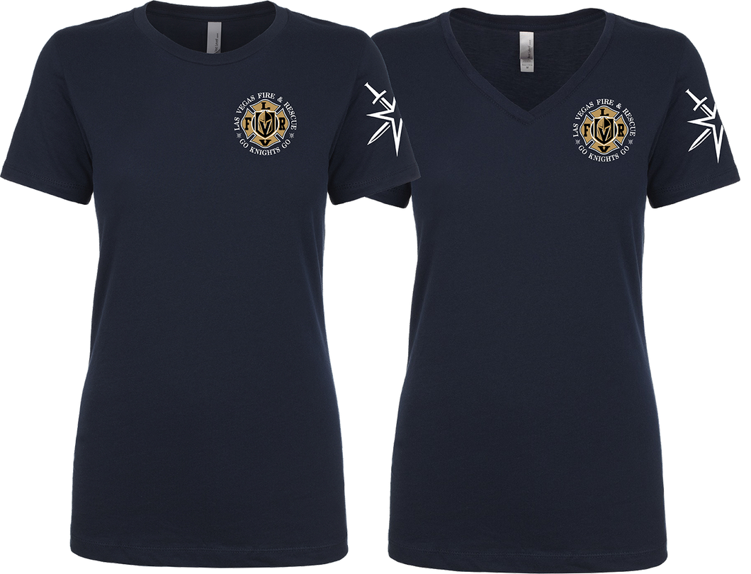 LVFR Knights ladies shirts