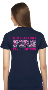 NLVFD LADIES Breast Cancer Awareness Duty Tee
