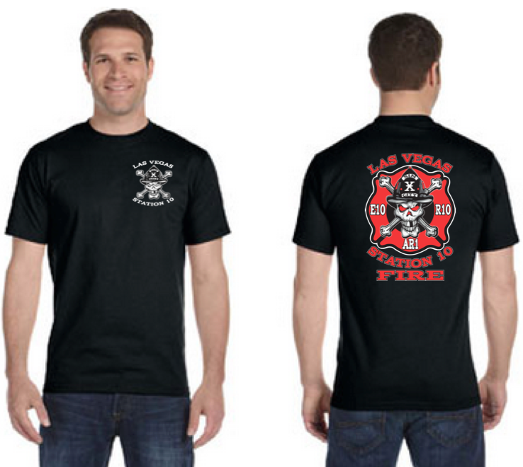 LVFR Station 10 Off Duty Tee