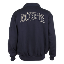 Load image into Gallery viewer, MCFR Game Full Zip Job Shirt