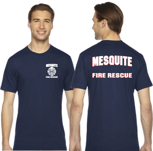 Mesquite Fire 50/50 American Apparel Duty Shirts