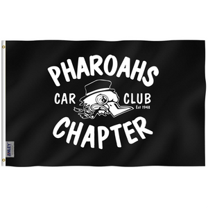 Pharoahs Car Club Banner