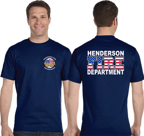 HFD Short Sleeve 75th Anniversary Wear (gildan 50/50)