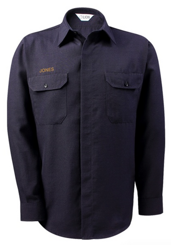 NLVFD Lion Class B Duty Long-Sleeve Shirt