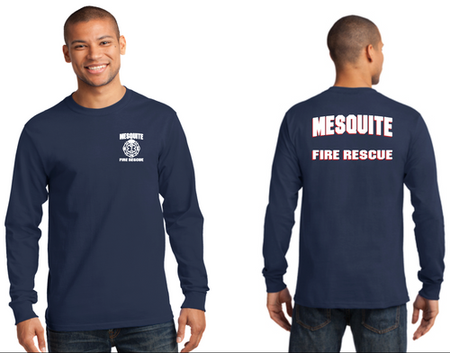 Mesquite Fire Port & Company Longsleeve Tall Duty T-Shirt (PC61lst)