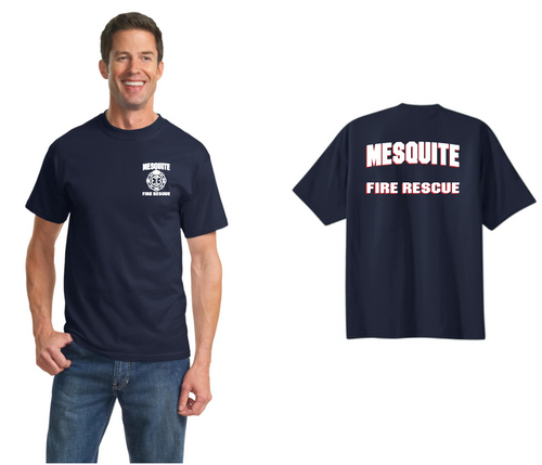 Mesquite Fire Port& Company Tall Duty Shirts (PC61T)