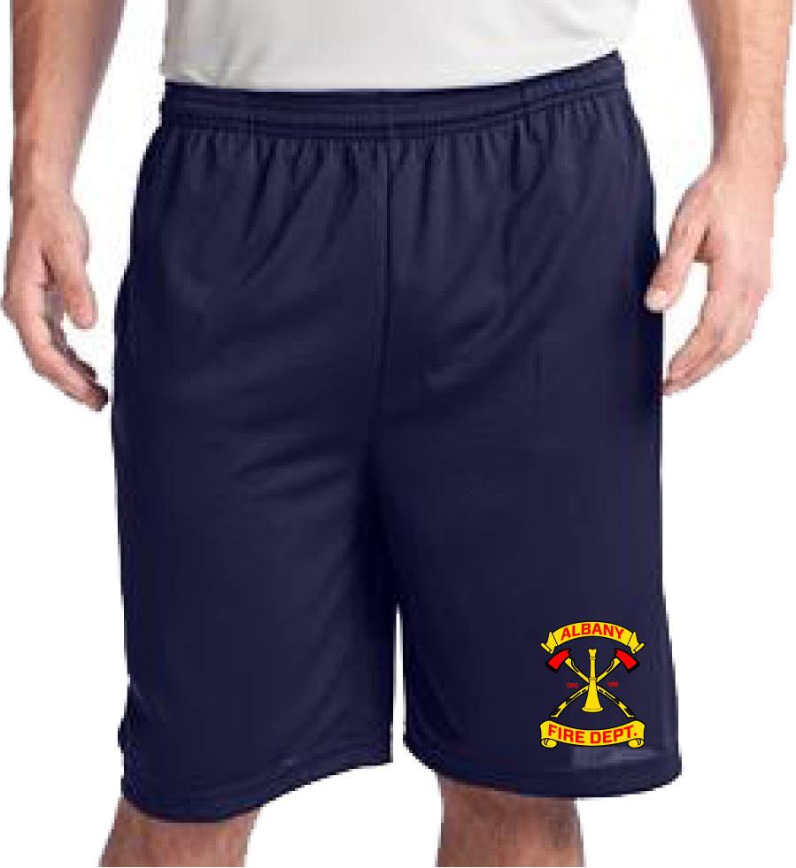 Albany Fire Duty MESH Shorts (embroidered)