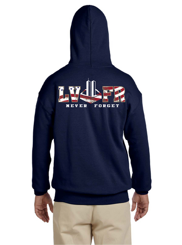 LVFR 9/11 NEVER FORGET SWEATSHIRTS
