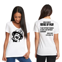 "Load image into Gallery viewer, Karl Kendrick ""House Of Pain"" Ladies T-Shirt - CCFD"