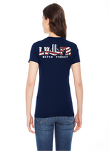 Load image into Gallery viewer, LVFR 9/11 NEVER FORGET LADIES SHIRTS