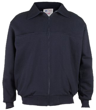 NLVFD Game AMERICAN MADE Full Zip Job Shirt