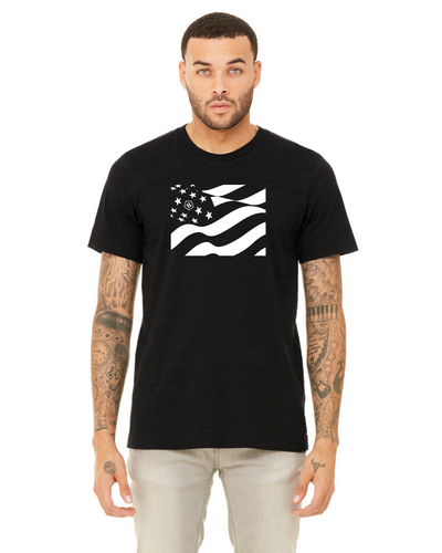 Heroic Flag Comfort Fit Fashion Tee