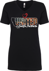 UNITED SANTA BARBARA LADIES T-SHIRT