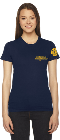 LADIES 100% Cotton Childhood Cancer Awareness Short Sleeve