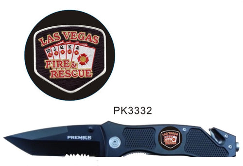 LVFR  Branded Rescue Knife