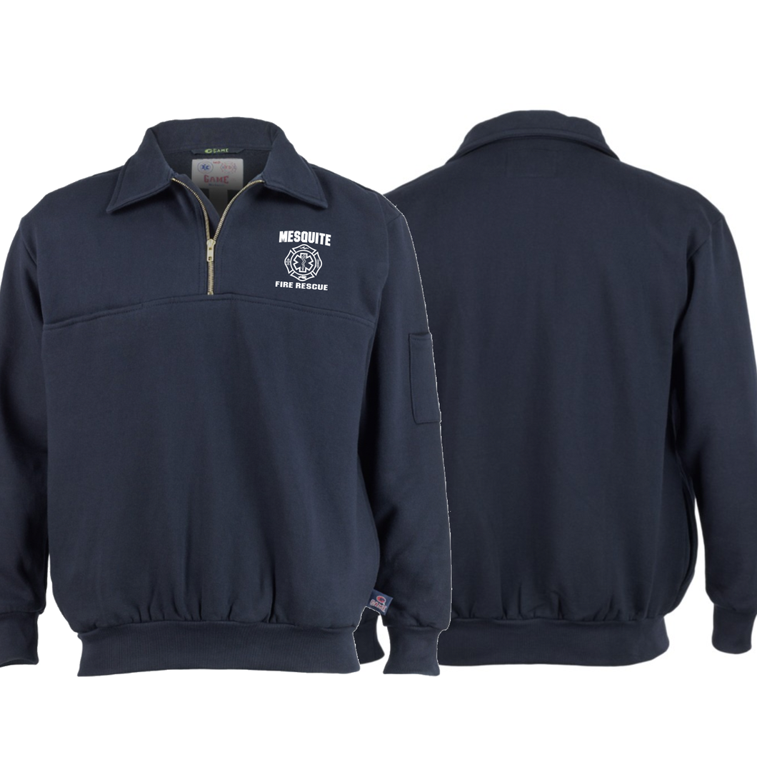 Mesquite Fire Game 1/4 Zip Jacket