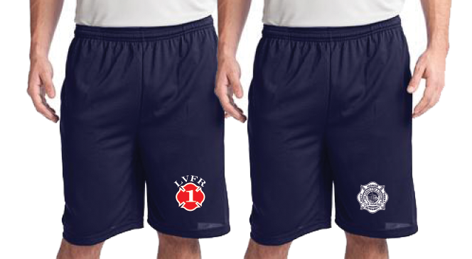 HFD POCKETED POLYESTER OFF DUTY Workout Shorts (ST312)