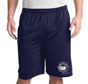 MCFR POCKETED POLYESTER EMBROIDERED DUTY SHORTS
