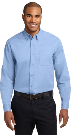 Mens Long Sleeve Work Shirt