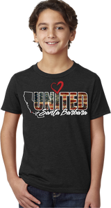 UNITED FOR SANTA BARBARA T-SHIRT
