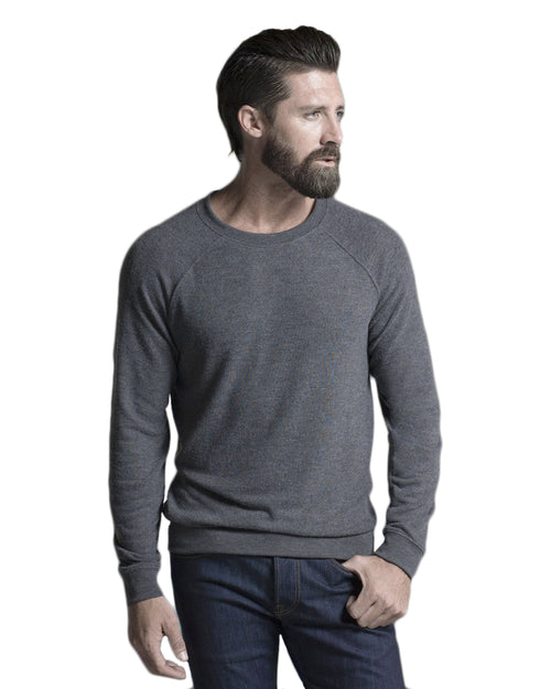 Knit Pullover: Charcoal Gray