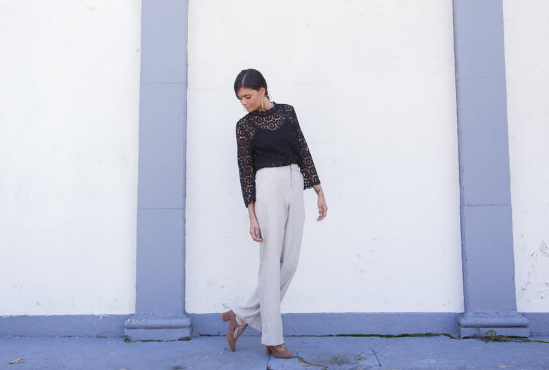 Styling Wide Leg Pants