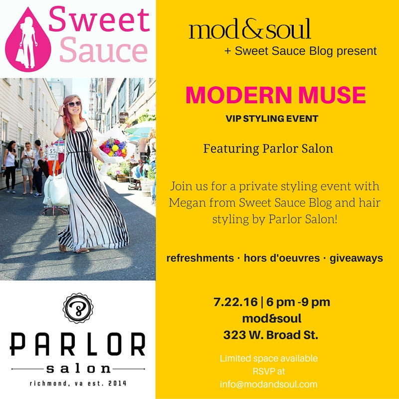 MODern Muse - A VIP Happy Hour Styling Event