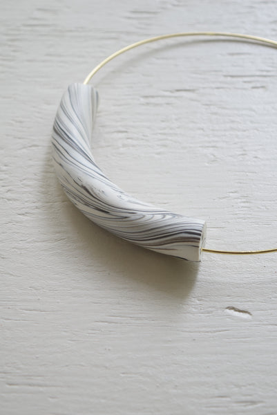 marble clay choker made in rva